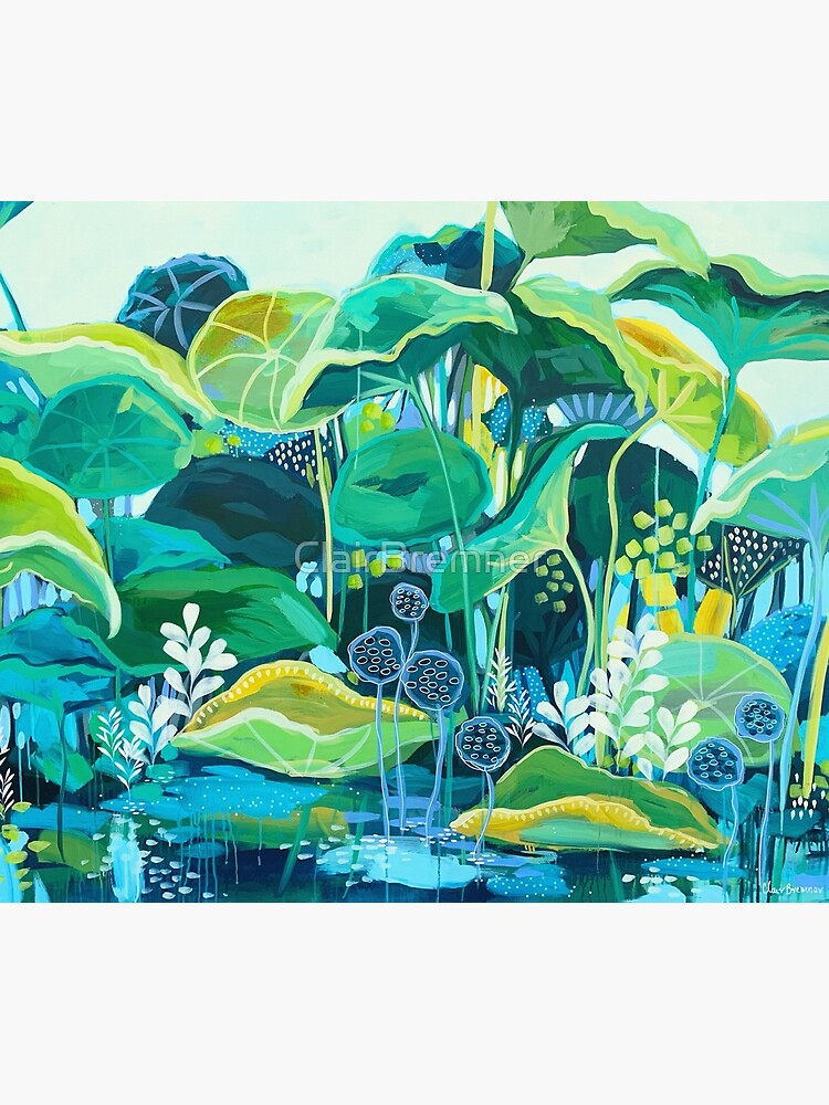 The Lotus Pond by ClairBremner