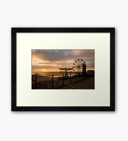 Cleethorpes Sunrise Framed Print