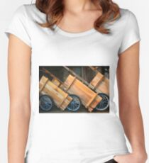 carts Women's Fitted Scoop T-Shirt