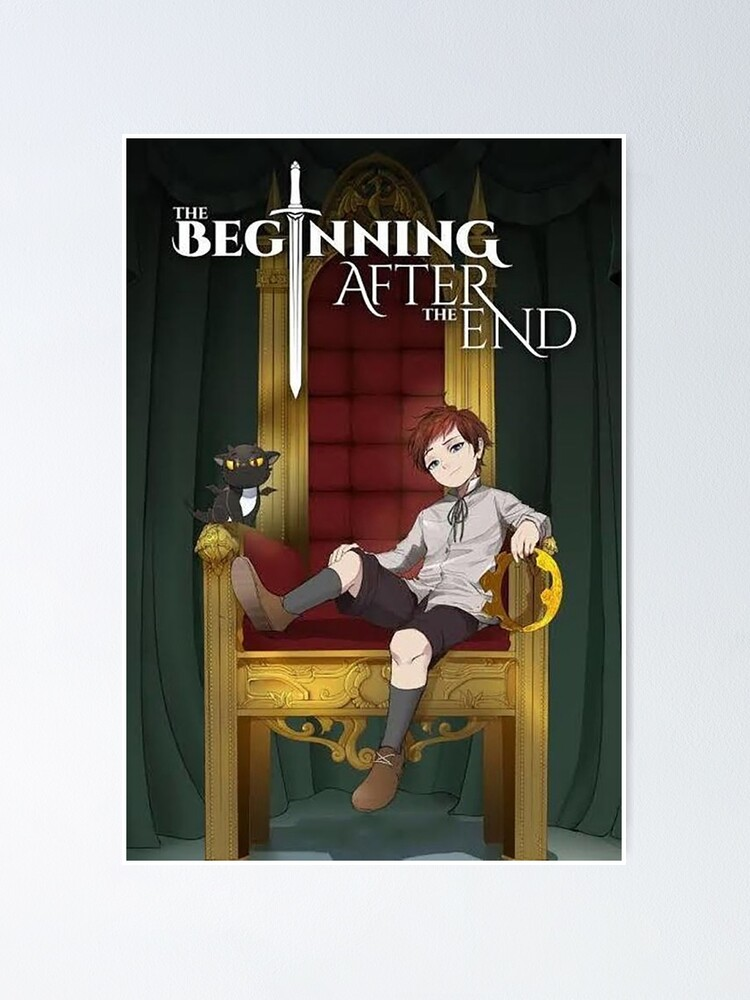The Beginning After The End Manhwa Poster By Zoraxlove Redbubble Manhwa manga releases, read webtoon online. redbubble