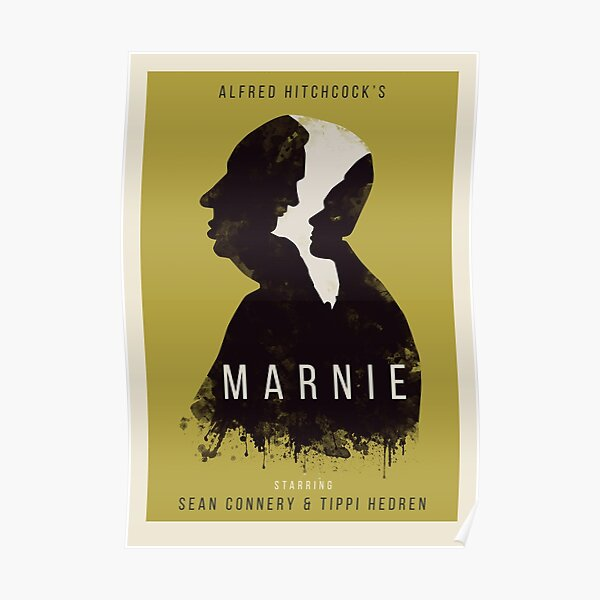 Alfred Hitchcock Marnie Poster