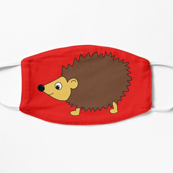 Cute Hedgehog Digital Design Mask