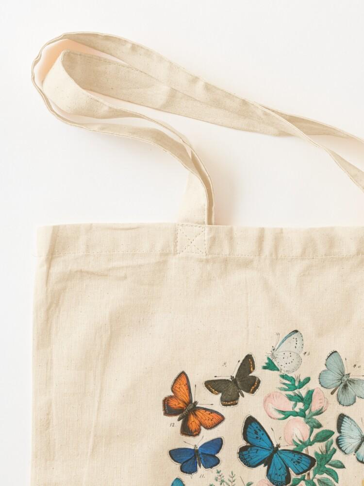 Alternate view of Butterflies, vintage illustrations Tote Bag