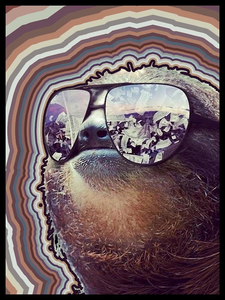 Cashmoney Sloth w/ sunglasses OC | Unisex T-Shirt