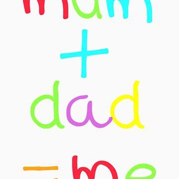 mum dad me by plastica