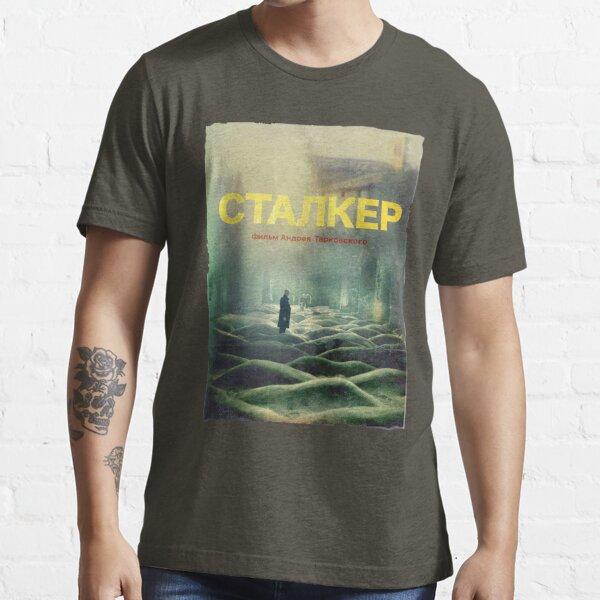 STALKER ein Film von Andrei Tarkovsky / Fan Art Poster Essential T-Shirt