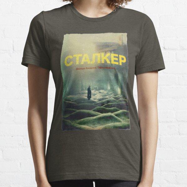 STALKER a film by Andrei Tarkovsky / Fan Art poster Essential T-Shirt
