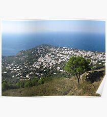 Anacapri Monte Solaro View Poster