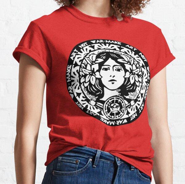 MAKE ART NOT WAR Classic T-Shirt