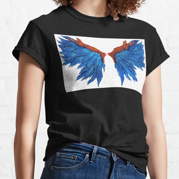 Oil wings of freedom Classic T-Shirt