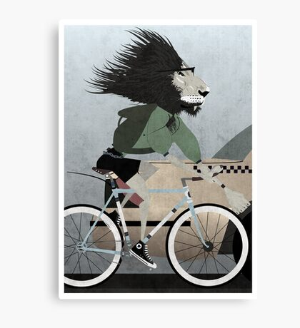 Alleycat Race Canvas Print
