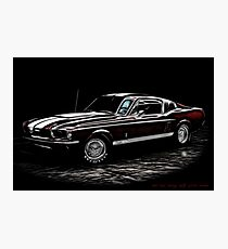 1967 Ford Mustang Shelby 350 Fastback Photographic Print
