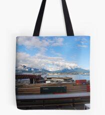 Port Metro - Burrard Inlet Tote Bag