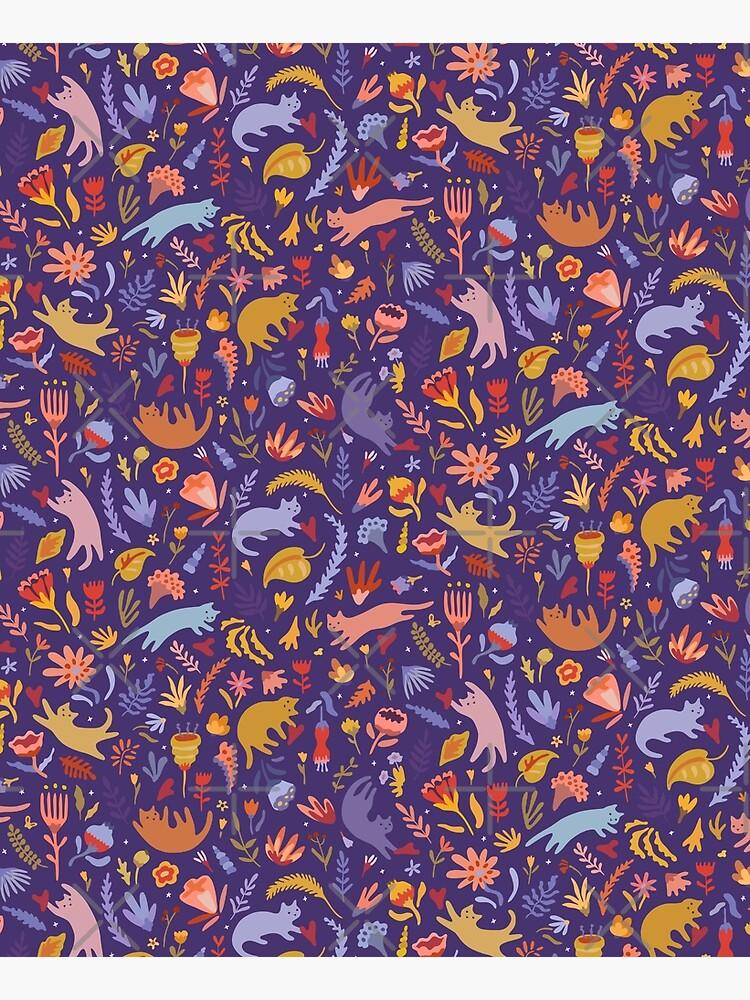 Candy Cats in the Magic Garden by runcatrun