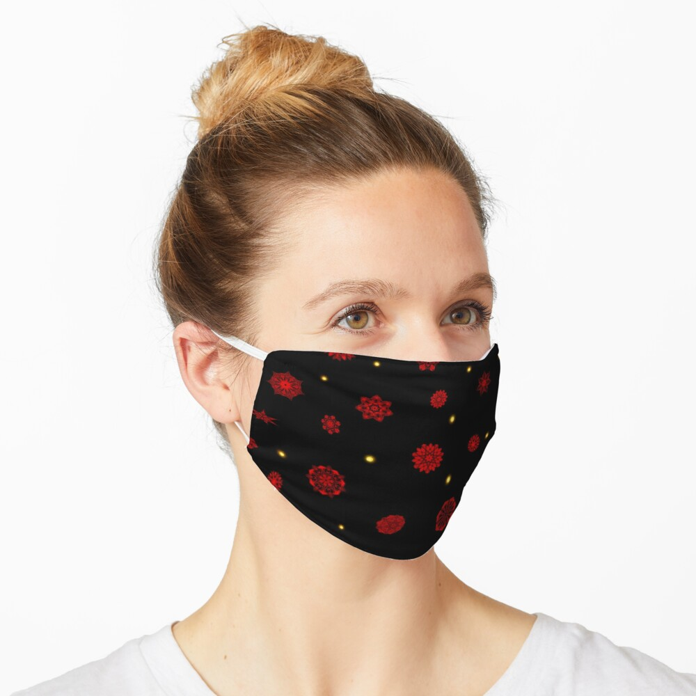 Fire in the Night Mask