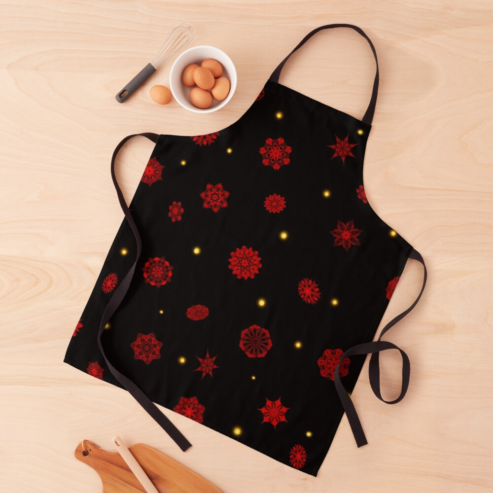 Fire in the Night Apron