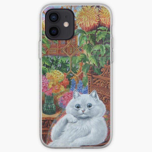 Master of Cat College by Louis Wain iPhone Soft Case
