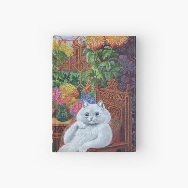 Master of Cat College by Louis Wain Hardcover Journal