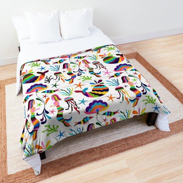 Otomi Style Marine Life Pattern Comforter