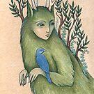 Forest Walker (Card) by NadiaTurner