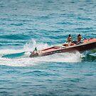 boat on the lago maggiore (003) by dirk hinz