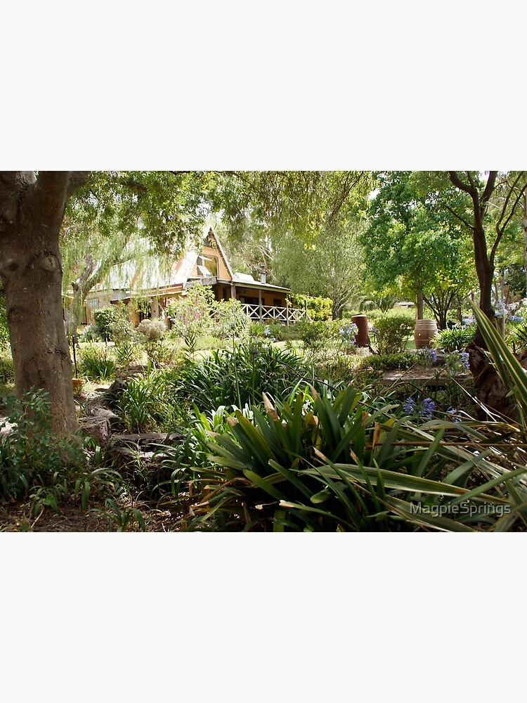 Front Garden Magpie Springs - Adelaide Hills Wine Region - Fleurieu Peninsula - Winery by MagpieSprings