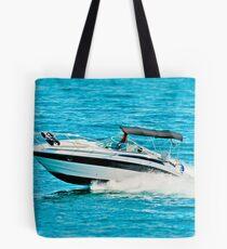 boat on the lago maggiore (002) Tote Bag