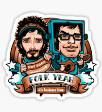 Folk Yeah! Sticker