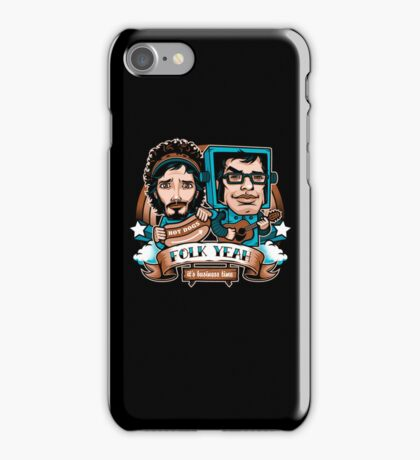 Folk Yeah! iPhone Case/Skin