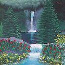 Mountain Falls by EMBlairArtwork