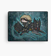 Raiden and Wolf Canvas Print