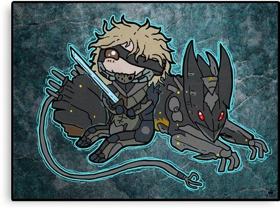 Raiden and Wolf by MagenWorks