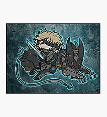 Raiden and Wolf Photographic Print
