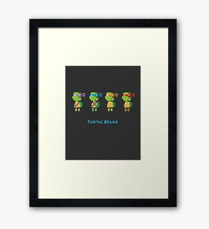 Turtle Power Framed Print