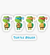 Turtle Power Sticker