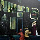 """Outside the Jazz club"" by Gabriella Nilsson"