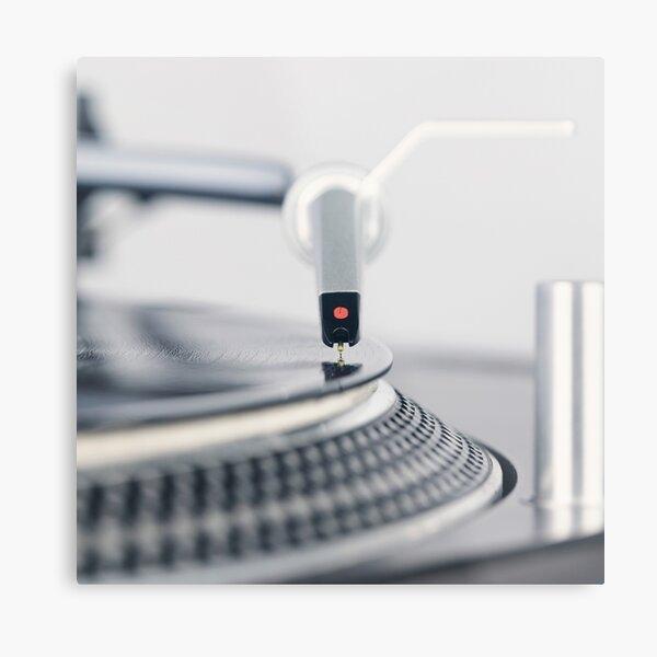 Technics Turntable SL 1200 mk2 Metal Print