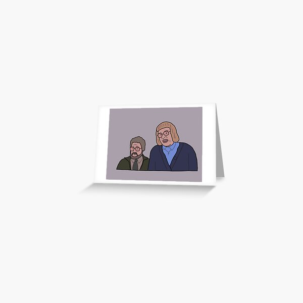 Holiday From Hell Come Fly With Me Judith and Peter Greeting Card