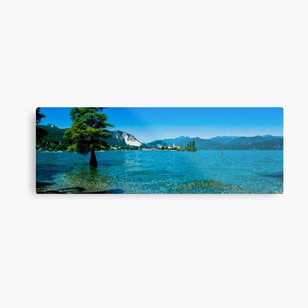 lago maggiore hdr, isola superiore o dei pescatori Metal Print
