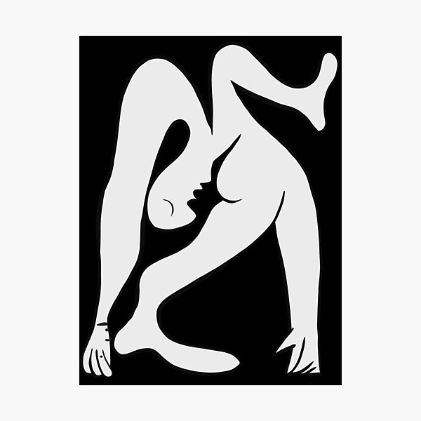 Picasso - Black and White #1 Photographic Print