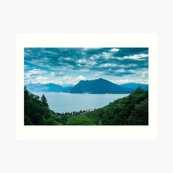 lago maggiore (001) Art Print