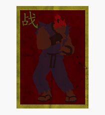 FIGHT: Street Fighter Edition #3 Akuma Photographic Print