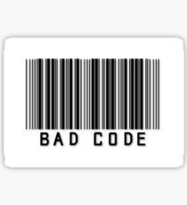 "Person of Interest ""Bad Code"" Sticker"