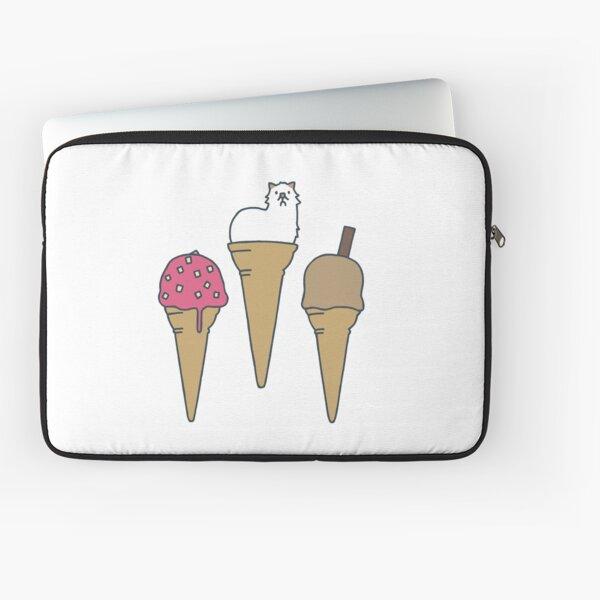 Icecream Moo Laptop Sleeve