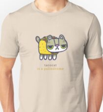 Tacocat is a palindrome Unisex T-Shirt