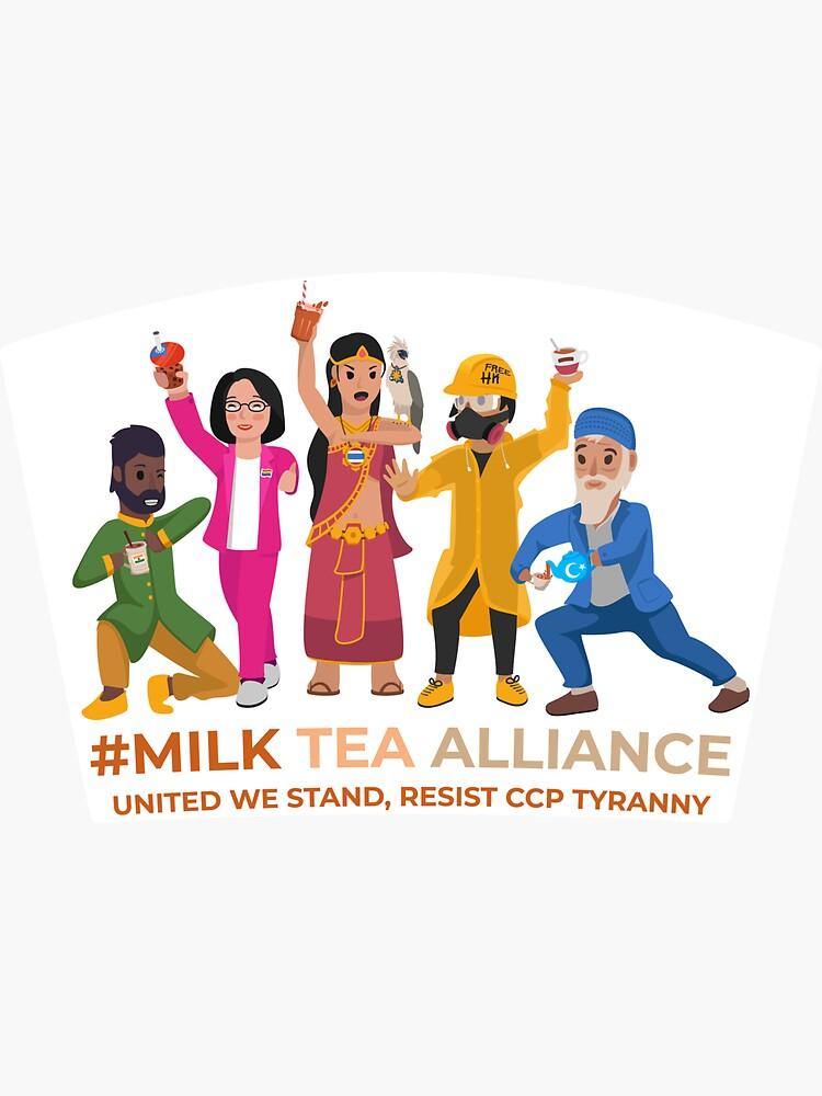 Milk Tea Alliance by AlefYodhAlef