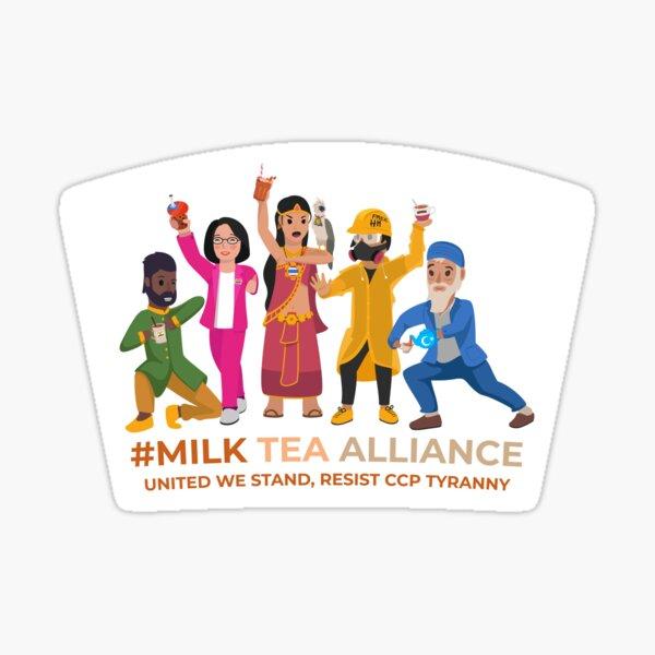 Milk Tea Alliance Sticker