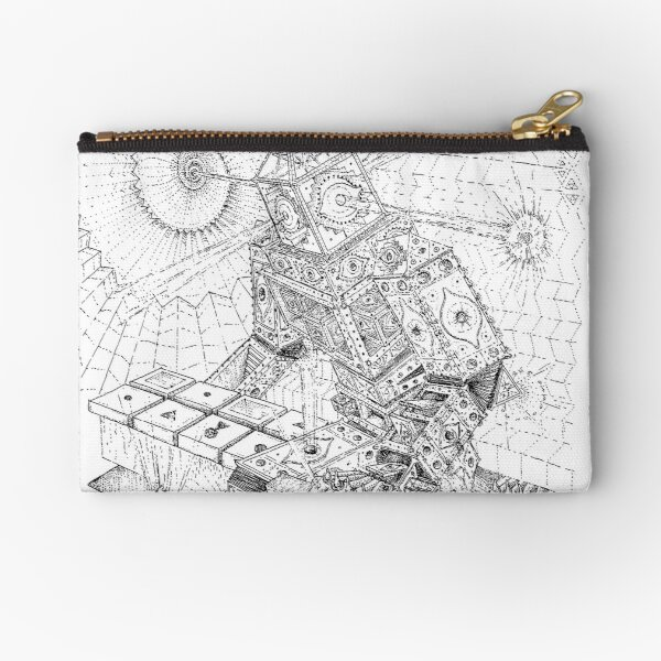can see everything. Zipper Pouch