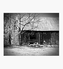 Rustic Tennessee Barn Photographic Print