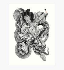 Orochimaru Art Print